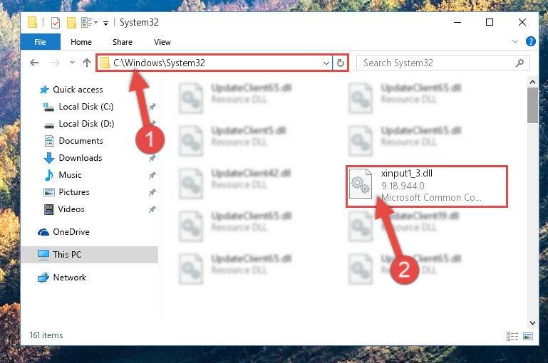 Скачать файл на компьютер xinput1 3 dll
